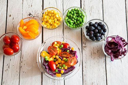 bữa ăn cầu vồng tốt cho bệnh nhân ung thư đại trực tràng