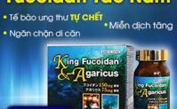 """King Fucoidan & Agaricus - """"Sát thủ"""" tiêu diệt tế bào ung thư từ Tảo & Nấm"""